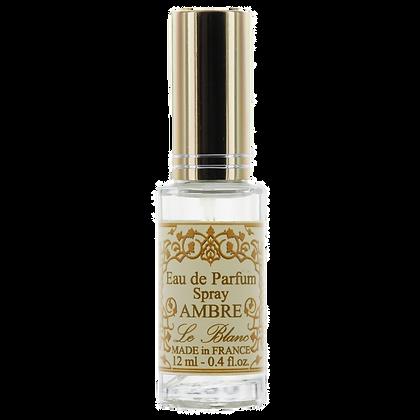 Eau de Parfum Leblanc 12ml Vaporisateur Ambre