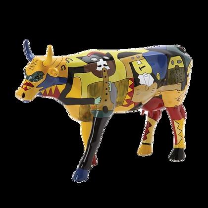 Vache Cow Parade Grand Modèle Picowso's Moosicians