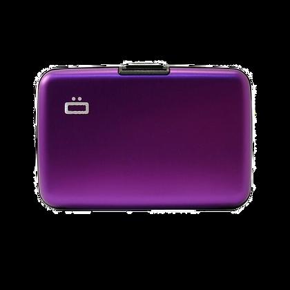 Porte Cartes Ogon Design Gamme Aluminium Classique Purple