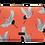 Housse pour Tablette Casyx Modèle Grues Corail