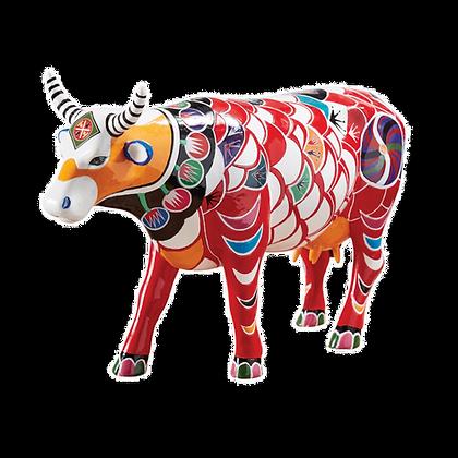 Vache Cow Parade Grand Modèle Shanghai Cow