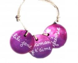 Bracelet Maman Nacre A Personnaliser