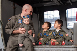 Military family photographer San Diego