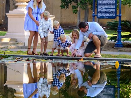 Family Photos in Balboa Park San Diego 92104