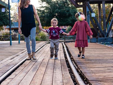 Mom and Me Photos Old Poway Park 92064 - San Diego Family Photos