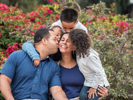 Balboa Park Family Photos - San Diego Family Photographer 92102