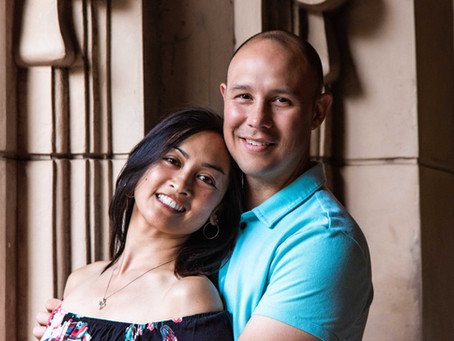 Couples Photo Shoot Balboa Park