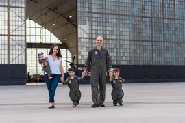 Military family photos