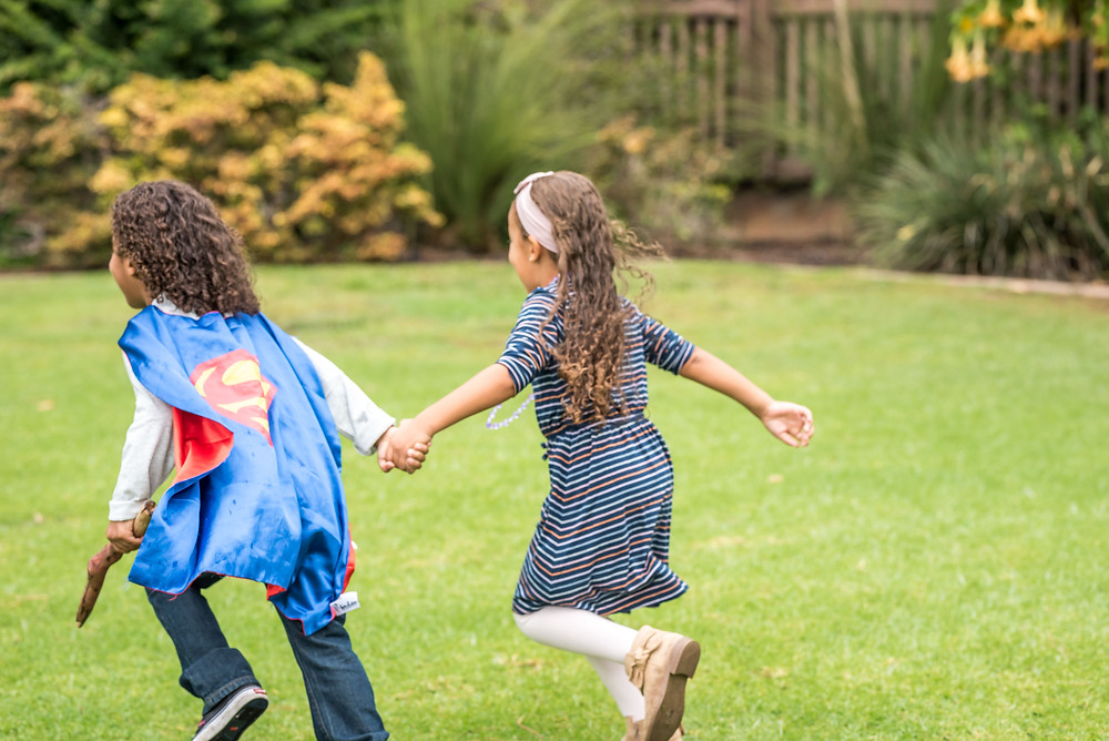 childrens photos in balboa park san diego