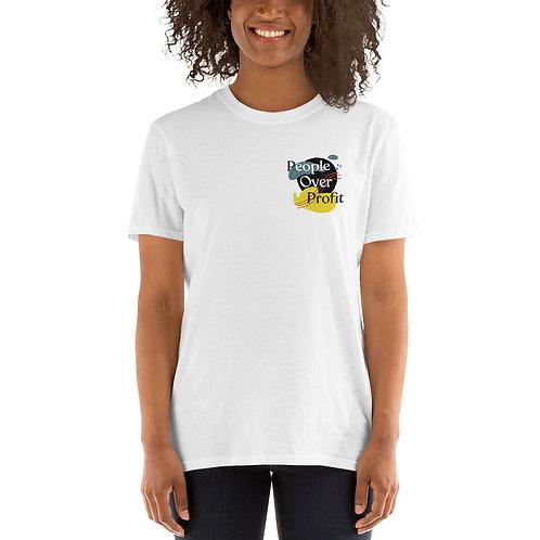 People over Profit - Paint T-Shirt