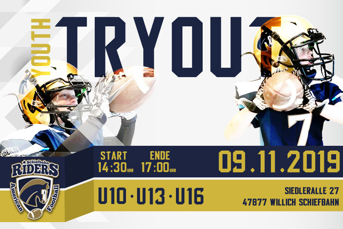 Youth TRYOUT 2019