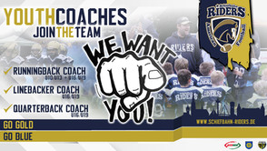 Youth Coaches wanted!