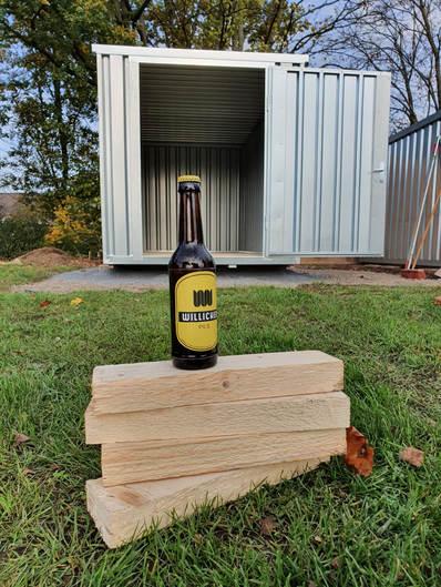 Unser neue Container