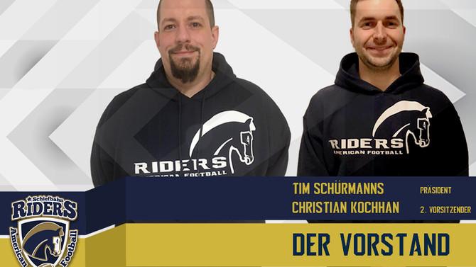 Neuer Vorstand bei den Riders