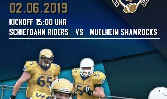 Heimspiel gegen Mühlheim am 02.06. um 15 Uhr.