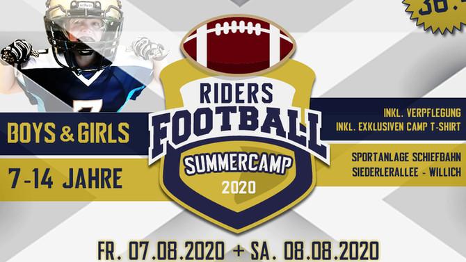 RIDERS Football Summercamp 2020