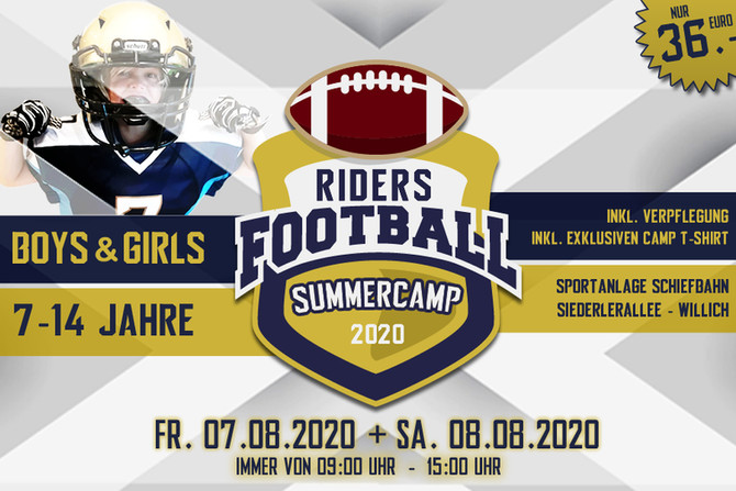 RIDERS Football Summercamp 2020