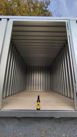 Unser neuer Container