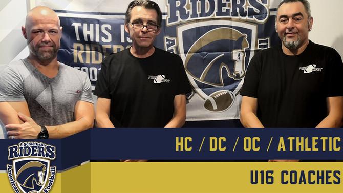 Neue U16 Coaches Crew