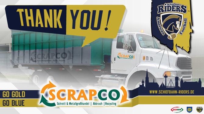 SCRAPCO wird Partner für Entsorgungslogistik