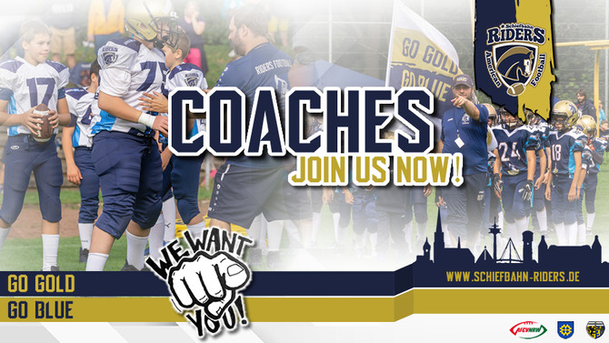 Coaches! Join us!