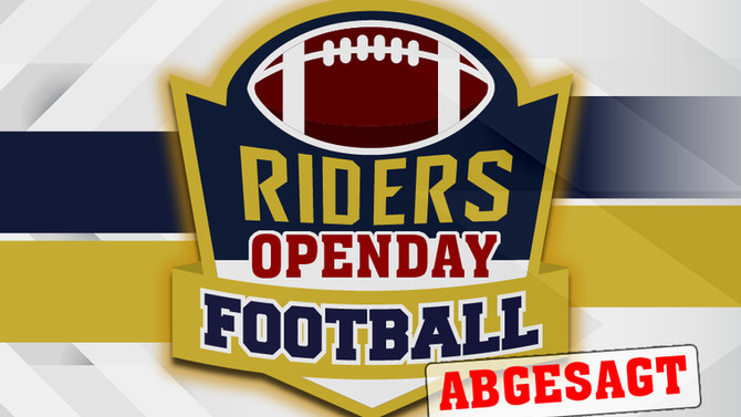 RIDERS sagen OPENDAY ab