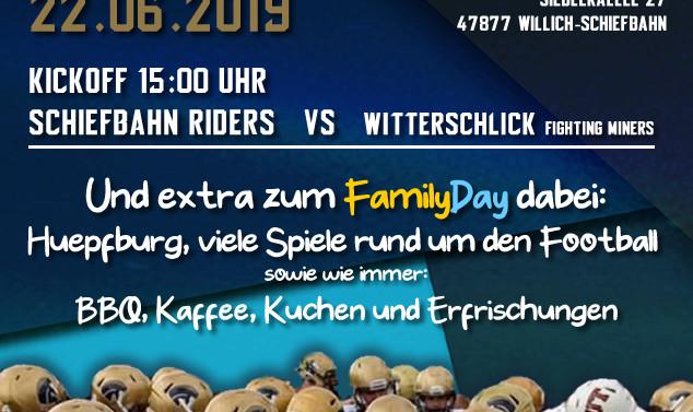 Game & FamilyDay am 22.06.2019