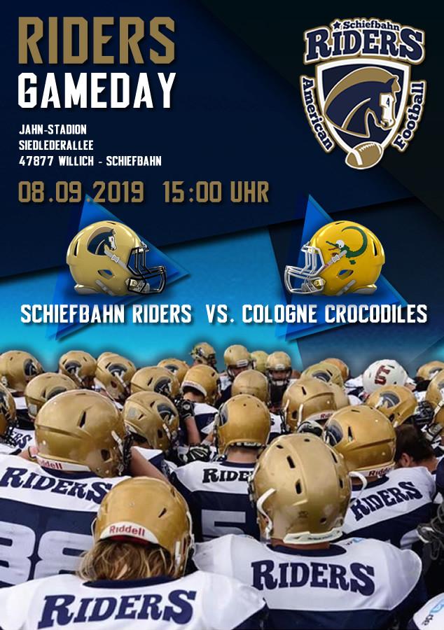 Gameday vs Cologne Crocodiles