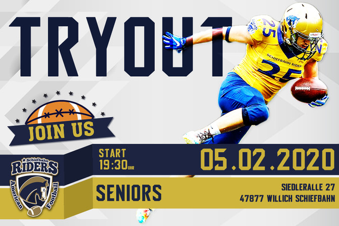 Seniors Tryout