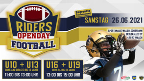 RIDERS Youth Football OPENDAY