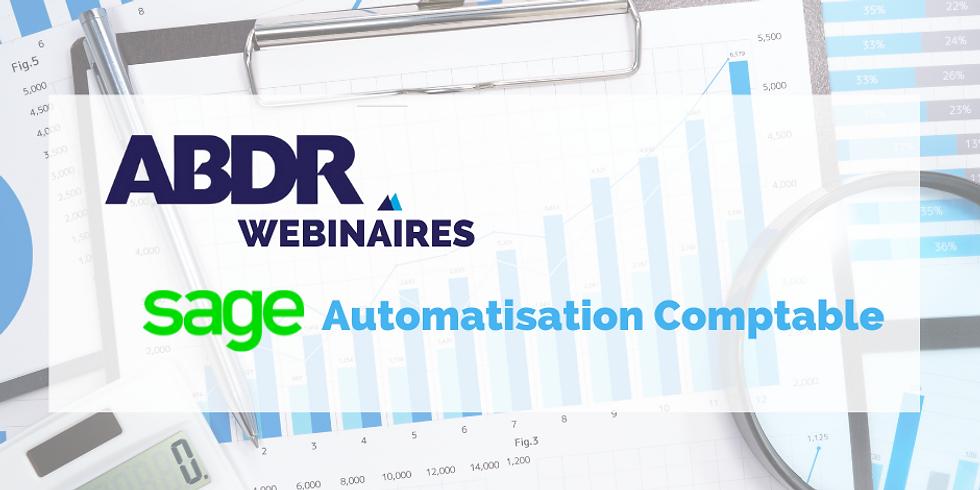 ABDR'Webinaires : Sage Automatisation Comptable (Session 2)