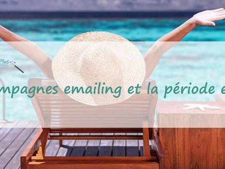 Les campagnes emailing et la période estivale