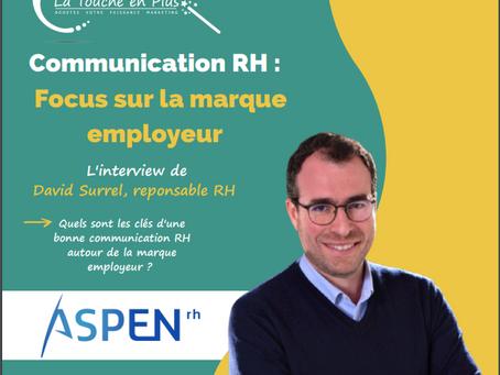 Marque employeur : L'interview de David Surrel, fondateur d'un cabinet de recrutement.