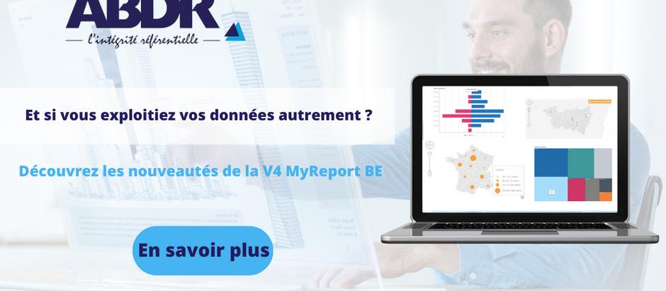 Les Nouveautés de MyReport BE : LA V4.0