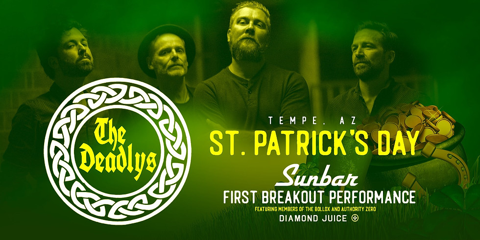 The Deadlys - St Patrick's Day - First Breakout Performance