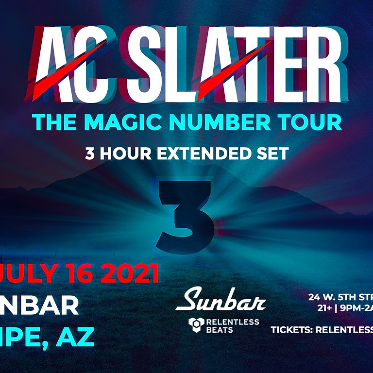 AC Slater: The Magic Number Tour