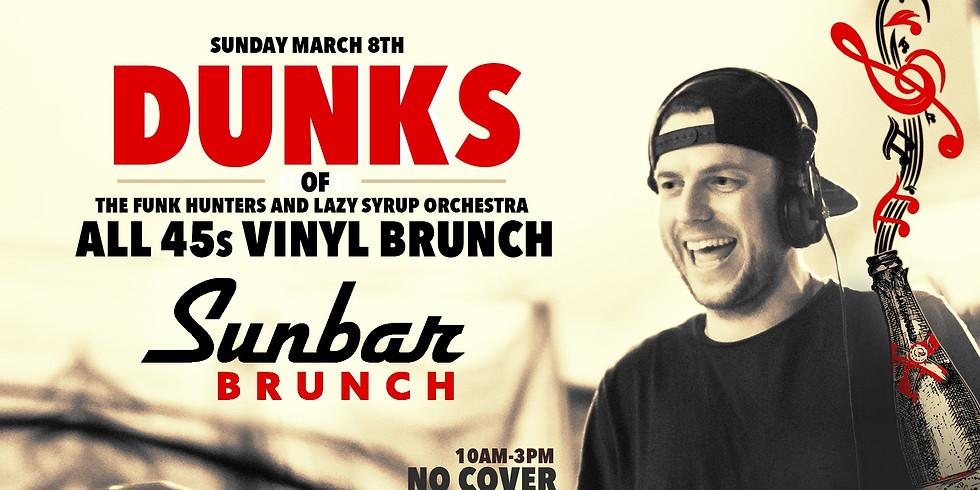 Dunks All 45s Vinyl Brunch - 4 Hour Patio Set
