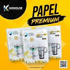 Papel Premium A4 color make