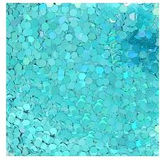 Glitter Aqua 10oz grueso