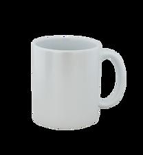 Taza Perlada blanca
