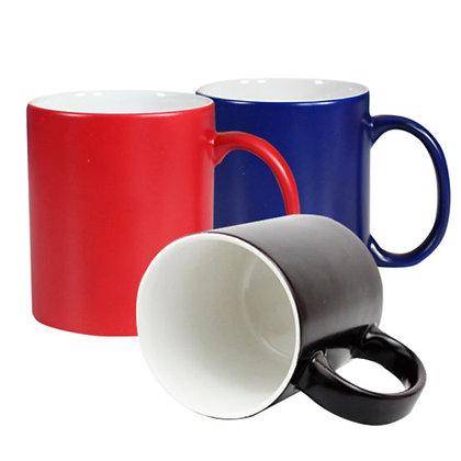 taza mágica, taza, ceramica, cambia de color, sublimación, sublimable, geekolor