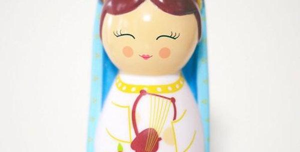 Saint Cecilia Shining Light Doll
