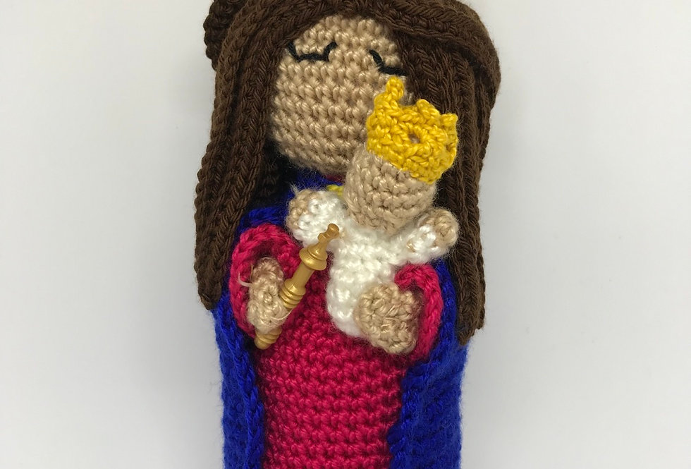 Our Lady Help of Christians - Crochet doll