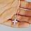Thumbnail: Crucifix Pendant, Silver