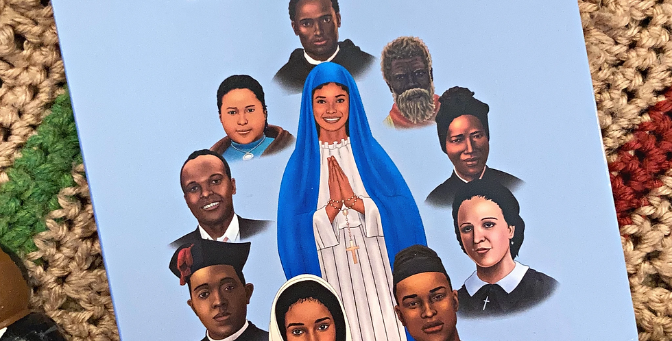 Great Black Catholics: Saints Like Me Board Book, Catholic Sprouts