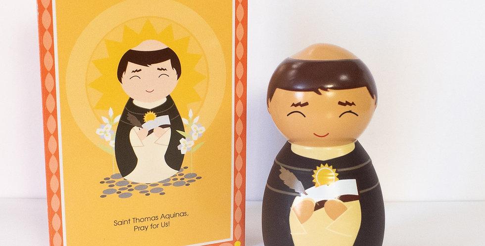 Saint Thomas Aquinas Shining Light Doll