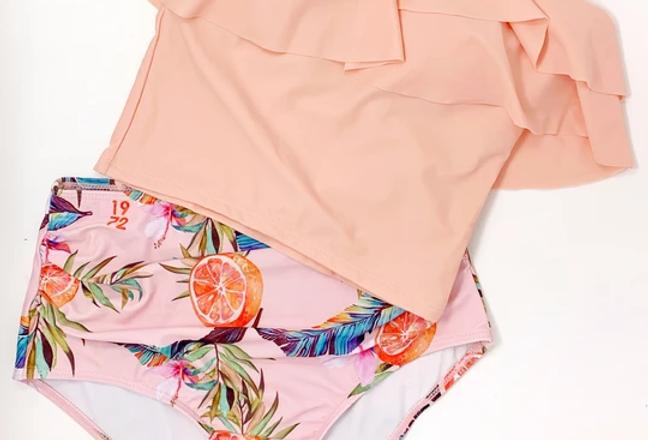 Tropical Pink 2 Piece