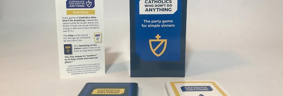 Catholics Who Don't Do Anything game