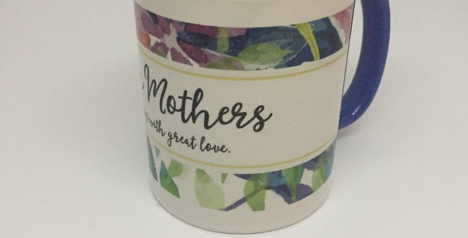 Catholic Mothers mug, Logo