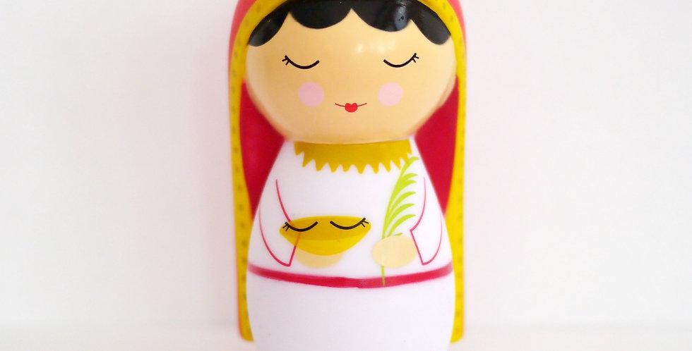 Saint Lucy Shining Light Doll